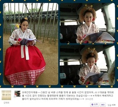 Kim Tae Hee Manages to Look Cute While Studying Her Script | Soompi