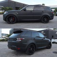 Range Rover Sport 2016 Matt black