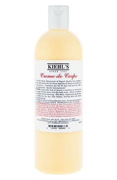 Free shipping and returns on Kiehl's Since 1851 Kiehl's Since 1851 Creme de Corps at Nordstrom.com. A superb allover body moisturizer is ideal for extremely dry or flaking skin. It's enriched with the finest ingredients known to Kiehl's to give you a rich, elegant skin texture. Continued use for 10 days will provide you with a heretofore unattainable skin texture.