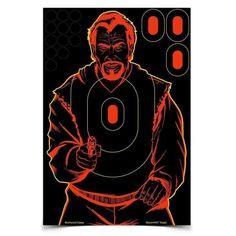 Birchwood Casey Shoot-N-C 12x18 inch Bad Guy Target, 5 Pack