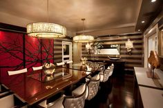 Dining Room - Private Residence - Interior Design: El Estudio - Photography: Ricardo Piantini