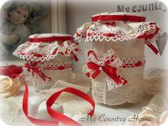 A cute present for any shappy loving frind: MY COUNTRY HOME: Vasetti di gessi profumati... oggi