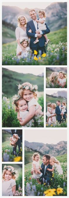 Utah Family Photographer | Mountain Wildflowers | Boutique Photographer | Family Photography | Family Pictures | Portraits by Andra