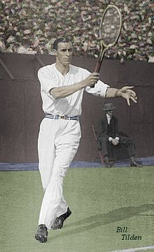 """William Tatem Tilden II (February 10, 1893 - June 5, 1953), nicknamed """"Big Bill,"""" was an American tennis player. He is often considered one of the greatest tennis players of all time.[1] Tilden was the World No. 1 player for seven years, he won 15 Majors comprised of ten Grand Slams, the 1921 World Hard Court Championships and four Pro Slams . Bill Tilden dominated the world of international tennis in the first half of the 1920s."""