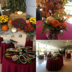Sawyer Center full of vibrant Fall colours for tonight's gallery reception. #colbysawyerfunctions #cscalumni #specialevents #colbysawyer #thinkoutsidetheclass