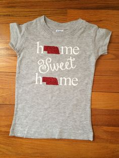 Infant/Toddler t-shirt  Home Sweet Home by LittleLihsBoutique