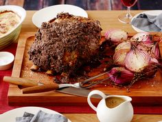 Roast Prime Rib of Beef with Horseradish Crust Recipe : Tyler Florence : Food Network - FoodNetwork.com