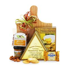 California Delicious Cheese and Crackers Gourmet Gift ** More info could be found at the image url. #Birthdaygift