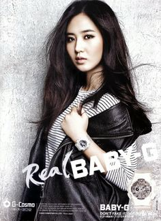 * Yuri * Watch: http://www.baby-g.com/watches/Baby-G_BA-110_Series/BA110-7A3