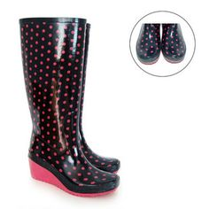 I have an obsession with rain boots lately..