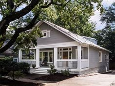 Traditional Exterior Craftsman Rehab In Houston Heights - Craftsman home rehabilitation in houston