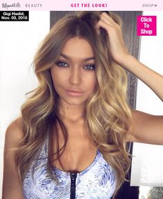 Gigi Hadid is in full Victoria's Secret Angel mode. The It model is already rocking the brand's signature bombshell waves and bronzed glow in preparation for the big show. Find out how you can copy the look, too!