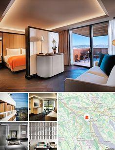 O hotel encontra-se num belíssimo subúrbio de Zurique. Nas imediações encontram-se transportes públicos e o interessante Museu Etnológico.