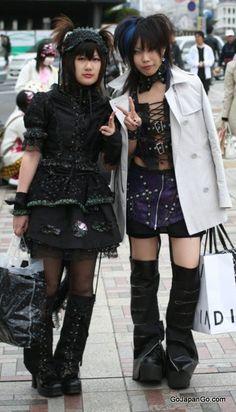 Harajuku Tokyo Japan Japanese fashion Japanese fashion Gothic Lolita