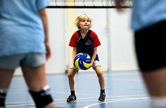 Volleybal Mini's toernooi, CMV Niveau 2, Haarlem