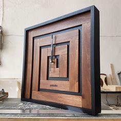 Beginner level maze, master level wall clock