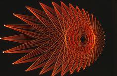 STRING ART - Giorno dopo Giorno   Foto dal Web : Arte particolare