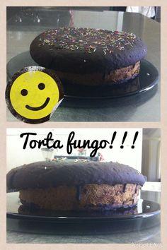 Non poteva mancare una #torta a forma di #fungo nel periodo di funghi!!!