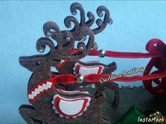Particolare decorazione natalizia