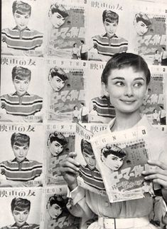 Audrey Hepburn is beautiful:^) I want to be like her! Divas, Audrey Hepburn Born, Magazin Covers, Moda Paris, I Believe In Pink, My Fair Lady, Classic Beauty, Timeless Beauty, Actors