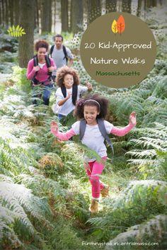 Kid-Approved Nature Walks Massachusetts