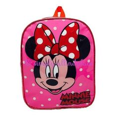 Disney Minnie Mouse Backpack Spots (stock Item)