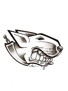 Graffiti Doodles, Graffiti Tattoo, Graffiti Drawing, Cartoon Drawings, Cool Drawings, Bullterrier Tattoo, Bull Terrier Funny, Spartan Tattoo, Black Lab Puppies