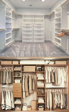 Best 20 Inspiring Closet Design Ideas to Steal Whether you have a large closet or a small one, it is a room all its own and when it comes to the priorities of a home renovation, closet design is in the list although it is probably not on the to… #closetstorage