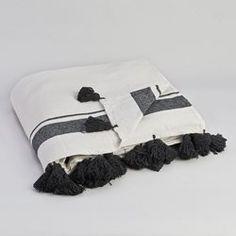 Couverture coton, Valens AM.PM - Rideaux, décoration textile