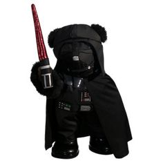 Not going to lie... I want to go to build a bear for this Panda dressed like Darth Vader.