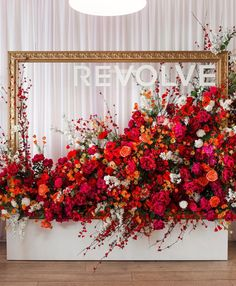 the holiday pop-up shop is opening to the public tomorrow @ see you babes right here ❤️ rvlv.me/beautypopup for all info! Red Wedding, Floral Wedding, Wedding Flowers, Deco Floral, Arte Floral, Flower Backdrop, Flower Wall, Photowall Ideas, Holiday Pops