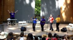 Singing the Blues while SOLD OUT at Wolf Trap, Vienna Va August 5 2014 www.8improv.com #Improv #NYC