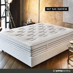 Sadece Yataş'a özel, yatağı dört bir tarafından destekleyen Kenar Yay Teknolojisiyle, Prestige Prime Yatak, Full HD yatak konforu sağlar.  Kenar destek yayları ile geniş bir uyku yüzeyi sunar