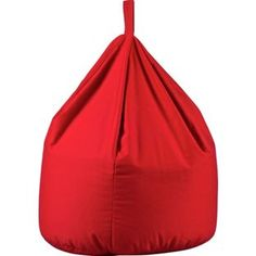 Buy ColourMatch Large Fabric Beanbag - Poppy Red at Argos.co.uk, visit Argos.co.uk to shop online for Beanbags