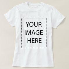 Create Your Own Custom Template T-Shirt