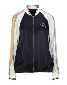 Satin Embroidered detailing Logo Multicolor pattern Single-breasted Zip Round collar Multipockets Long sleeves Knitted cuffs Fully lined Elasticated waist Scottish Fashion, Round Collar, Motorcycle Jacket, Adidas Jacket, Dark Blue, Zip, Long Sleeve, Sleeves, Pattern