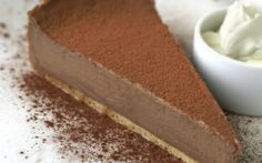 Milk Chocolate Tart by Andy Bates @FoodNetwork_UK