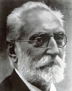 Spanish writer and philosopher Miguel de Unamuno /// Read a few of his books in high school, and loved them--be great fun to find them again.