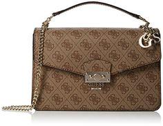 Guess Kollektionen Taschen zu den niedrigsten Preisen!!! - Guess Damen Arianna Umhängetaschen, Braun, 7.5 x 17 x 25.... https://www.amazon.de/dp/B01N5I1K91/ref=cm_sw_r_pi_dp_x_O.cozb9R1ZYA5