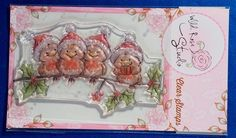 Wild Rose Studio 'Robins on Branch' Christmas Clear Stamp | eBay