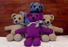 Ravelry: Crochet Teddy Bear pattern by Jenny Wren