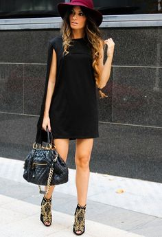 The dress & hat ... Get rid of those shoes & the purse