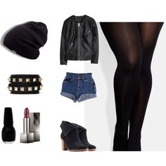 Rock and Roll by candelita-del-pino on Polyvore featuring moda, H&M, City Chic, UGG Australia, Valentino and Burberry