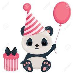 Resultado de imagen para feliz cumpleaños osos panda