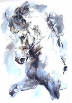 Click Visit link above for more details Abstract Horse Painting, Watercolor Horse, Sketch Painting, Watercolour, Horse Drawings, Animal Drawings, Art Drawings, Horse Artwork, Framing Canvas Art