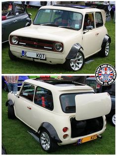 This custom Clubby really draws attention at the shows & opinions are always divided on a Mini like this but, I really like it so it's a perfect ClubMonday Mini as far as I'm concerned!