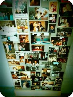 $2.00 picture wall DIY