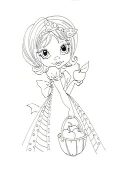 images about Saturated Canary Coloring Pages For Girls, Coloring Book Pages, Printable Coloring Pages, Coloring Sheets, Big Eyes, Large Eyes, Copics, Digital Stamps, Sketches