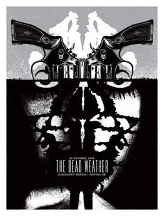 Aesthetic Apparatus: The Dead Weather poster