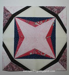 Black hole star done! Lucky Star, Quilts, Stars, Black, Black People, Quilt Sets, Sterne, Log Cabin Quilts, Quilting